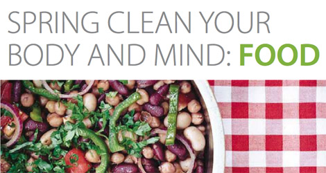 Spring Clean Your Body and Mind: Food
