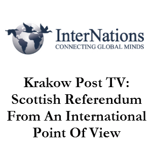 Views on Scottish Independence From Krakow
