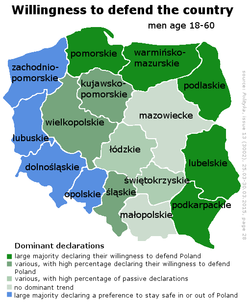 Is This The Most Important Polish Map Of The Krakow Post - Poland map