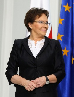 Ewa Kopacz has flown to Brussels for an emergency EU summit