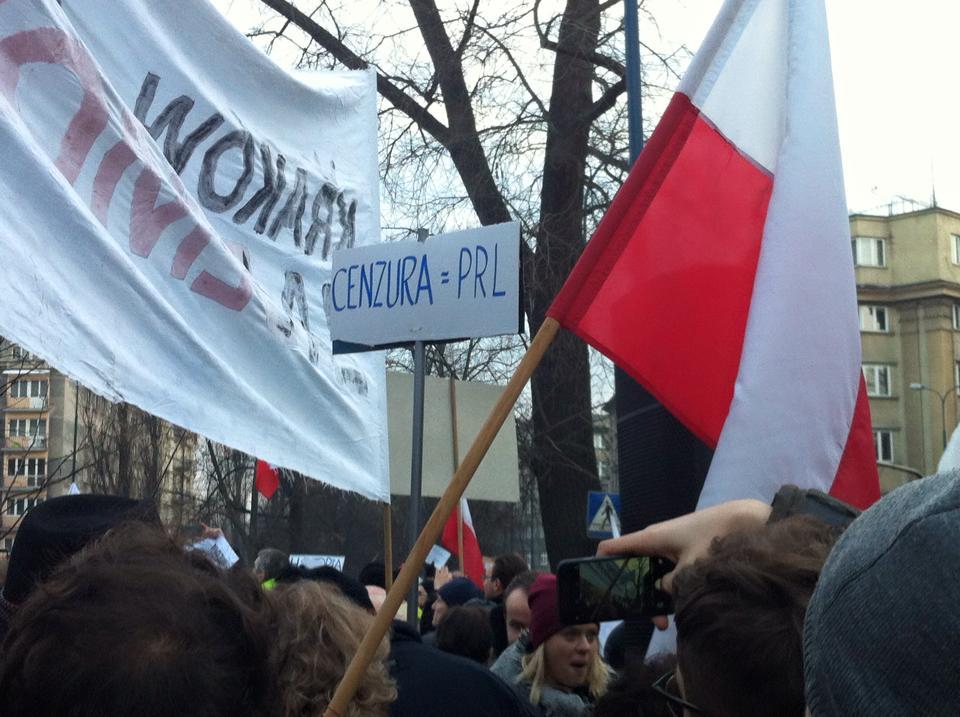 krakow free media protest 04