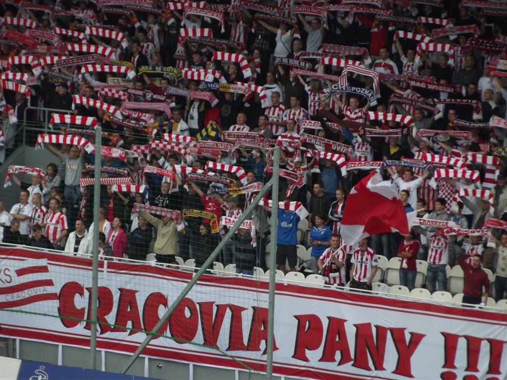 Cracovia fans
