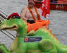 Drag a Dragon Across the Vistula