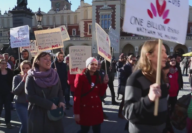 Krakow TV: One Billion Rising Krakow 2016