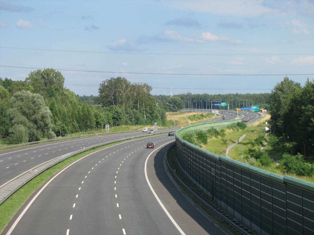 Autostrada_A4_w_Zabrzu-Makoszowach_(Nemo5576)