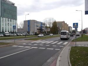 Bicycle_crossing,_Poland,_Kraków,_Armii_Krajowej