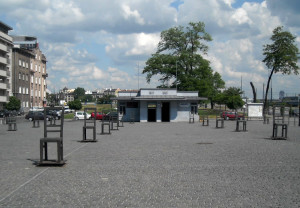 Kraków_Ghetto_and_Jewish_Deportation_Holocaust_Memorial,_May_2012