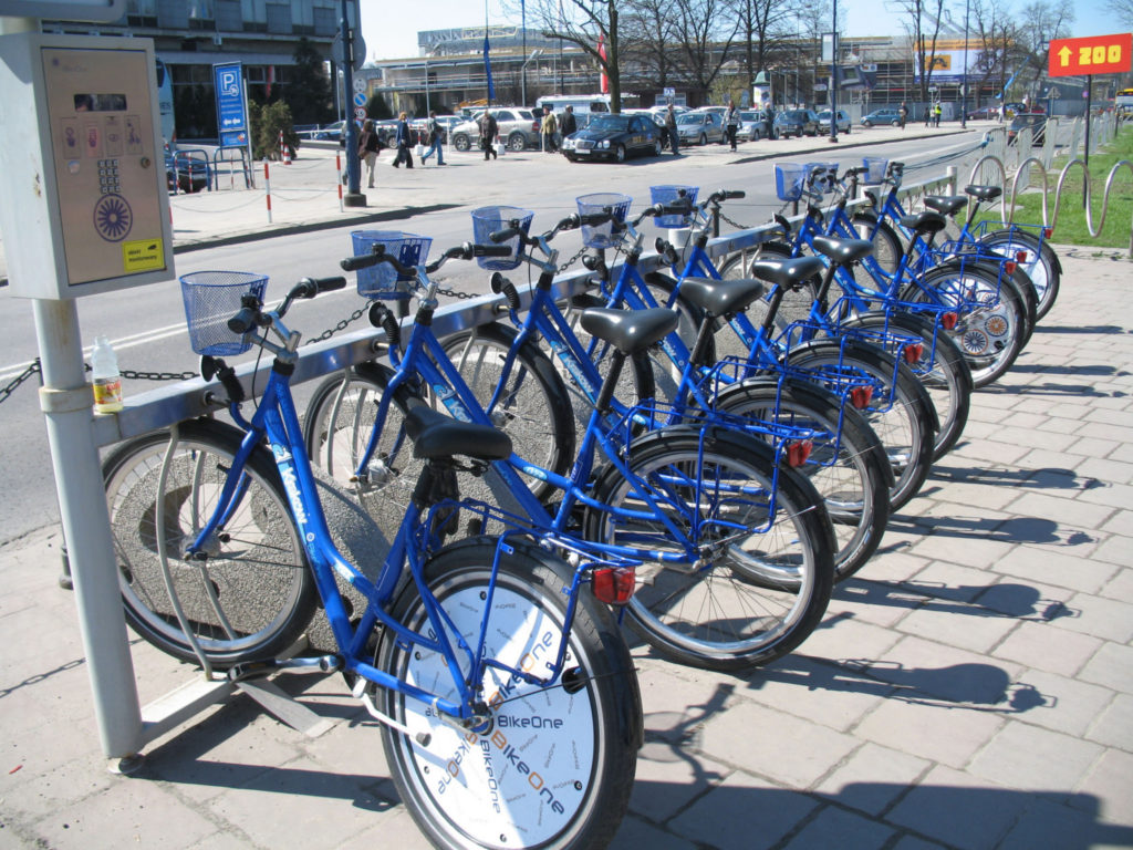 BikeOne_bicycles_in_Kraków