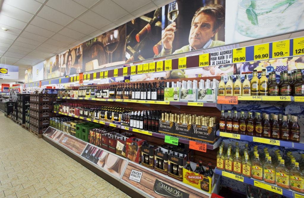 LIDL_prodejna_-_alkohol