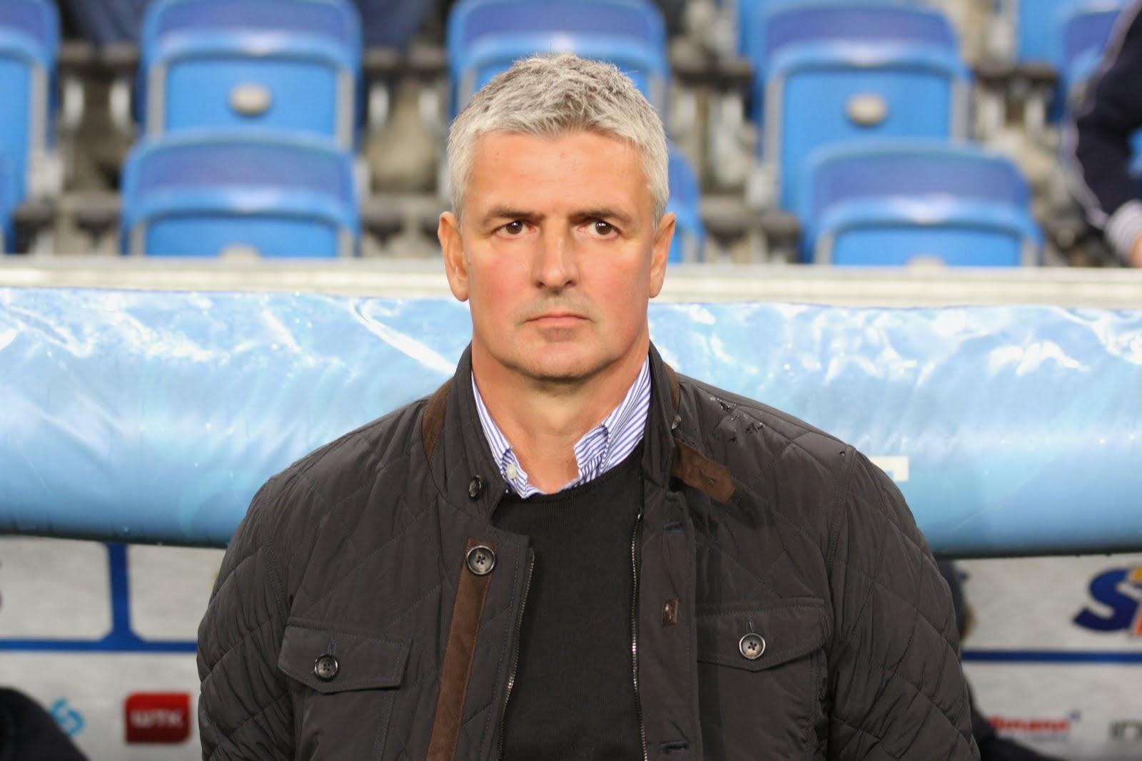 Wisła Kraków coach Dariusz Wdowczyk