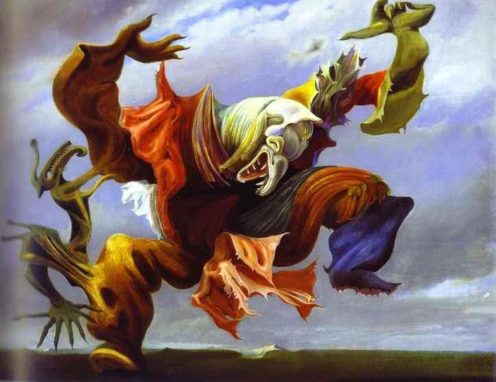 Max Ernst - L'Ange du Foyeur (1937)