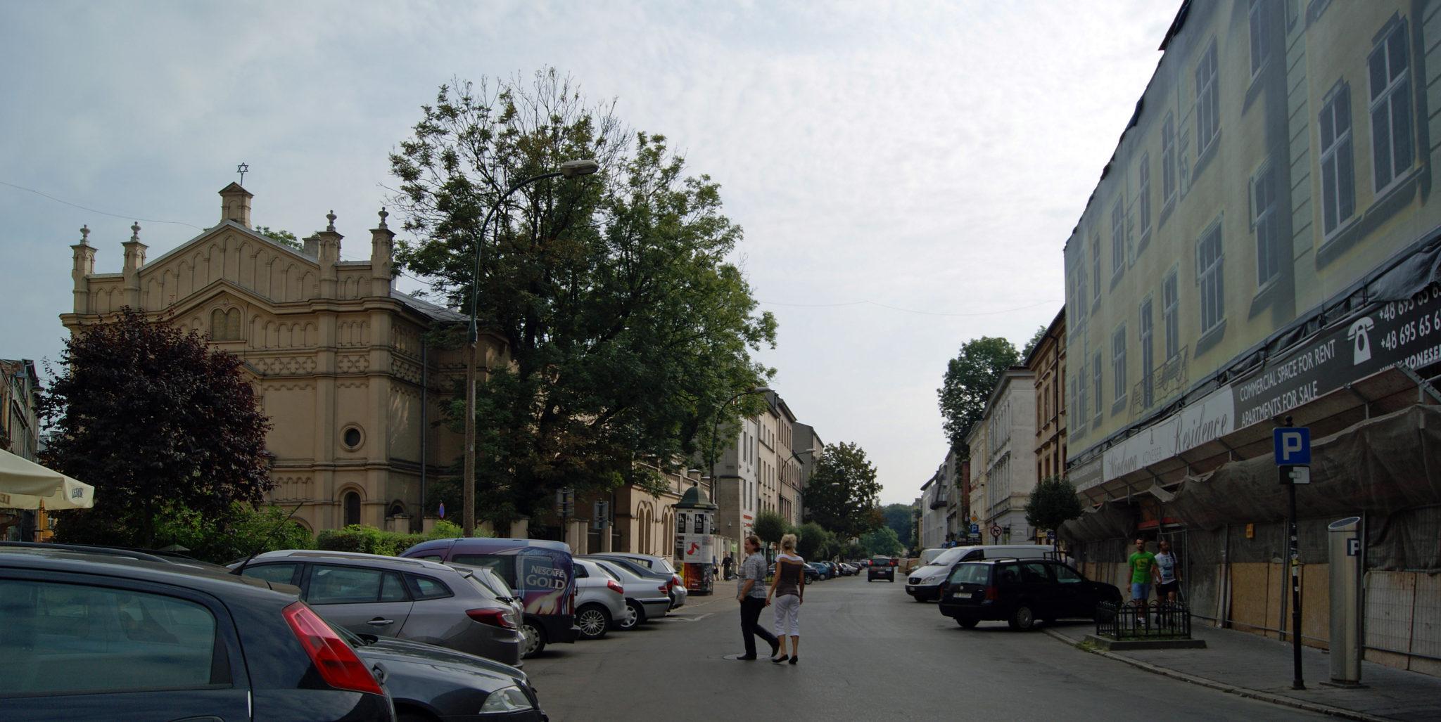 ul. Miodowa in Krakow's Kazimierz