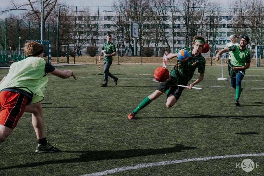 Quidditch in Krakow (Grzegorz Bukalski/KSAF)