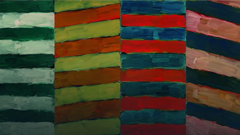 'Stock' (2014) by Sean Scully has never been exhibited to the Polish public... until now