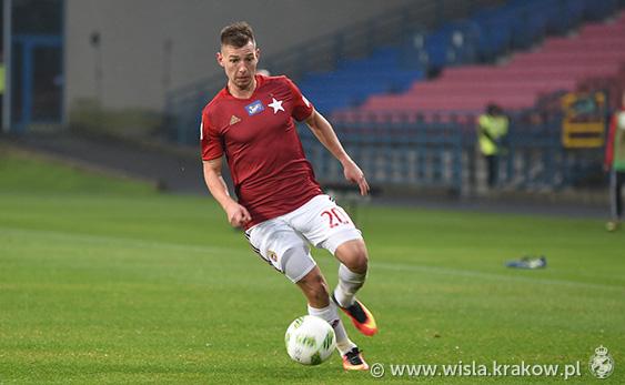 Mateusz Zachara scored Wisła Krakow's winning goal against Nieciecza (Przemek Marczewski/wisla.krakow.pl)