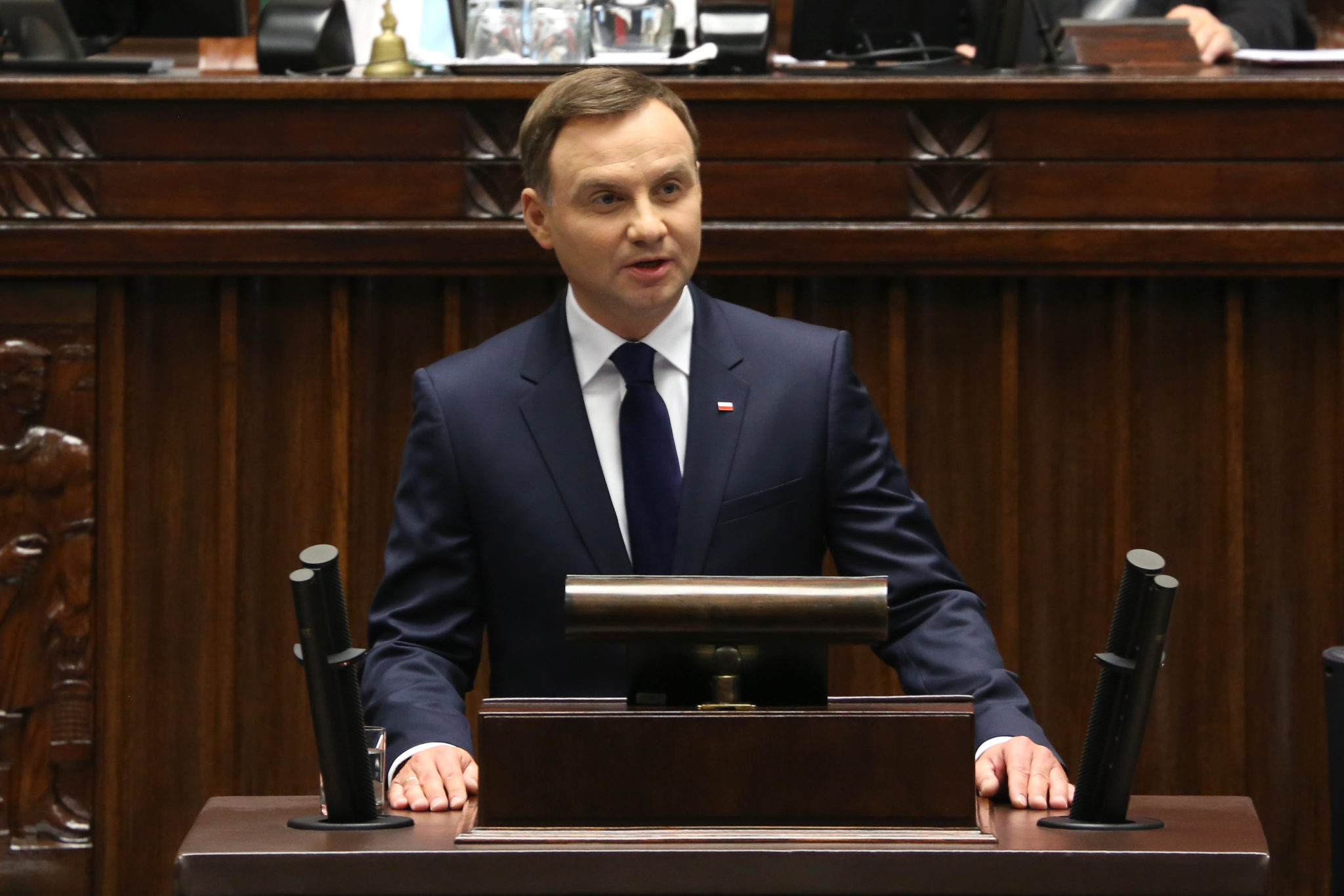 Polish President Andrzej Duda shocked the nation and world by vetoing a controversial bill which would have placed the Supreme Court under greater government control