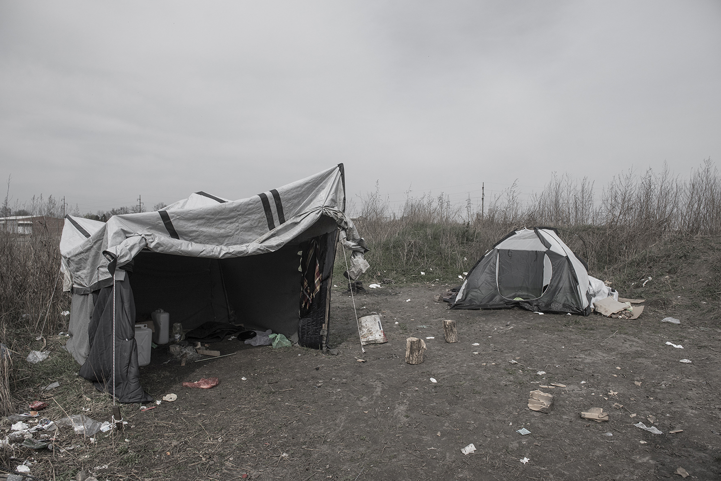 """From the photographic series """"Refugees: Images of the Unseen"""" by Portuguese artist Omar Marques"""