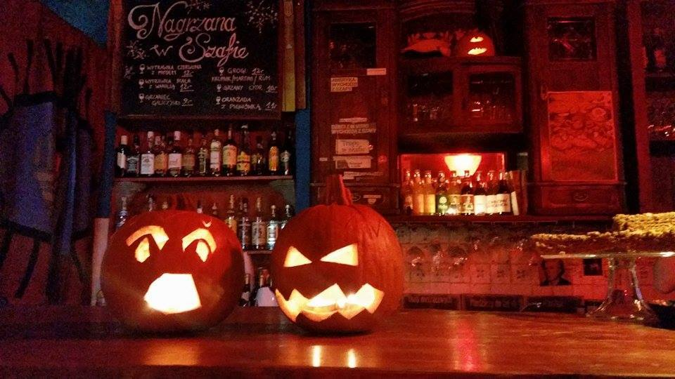 Ghosts of Halloween Past at Cafe Szafe