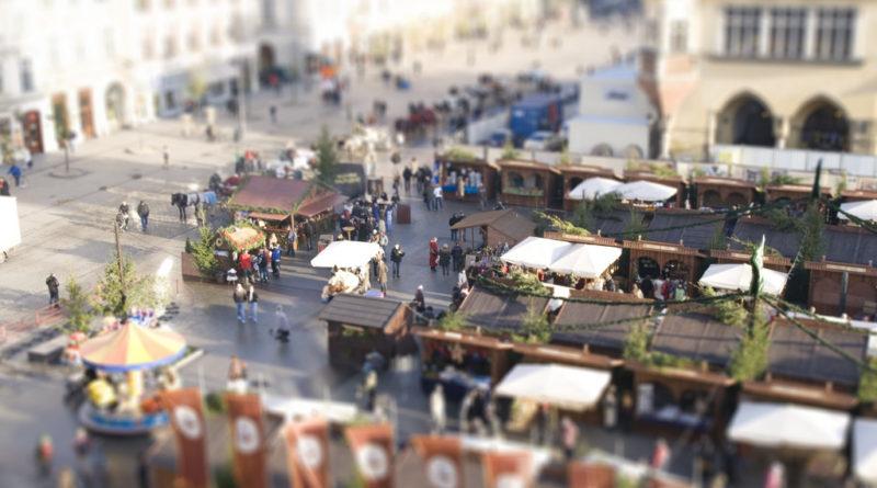 The Krakow Christmas Market in 2008 (phot. Anna Spysz)