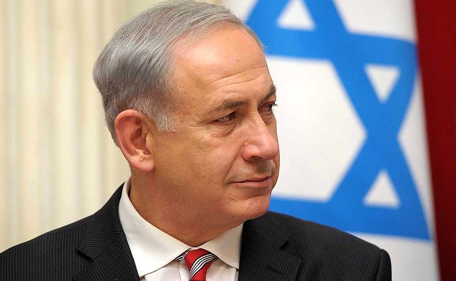 "Israeli Prime Minister Benjamin Netanyahu said a bill attempting to ban the phrase ""Polish death camps"" was an ""attempt to rewrite history"""