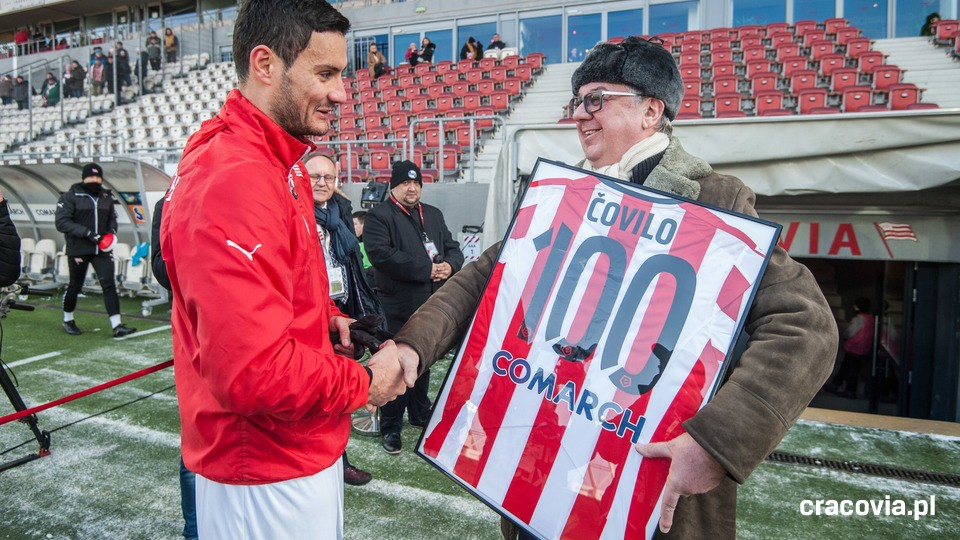 Čovilo reaches 100