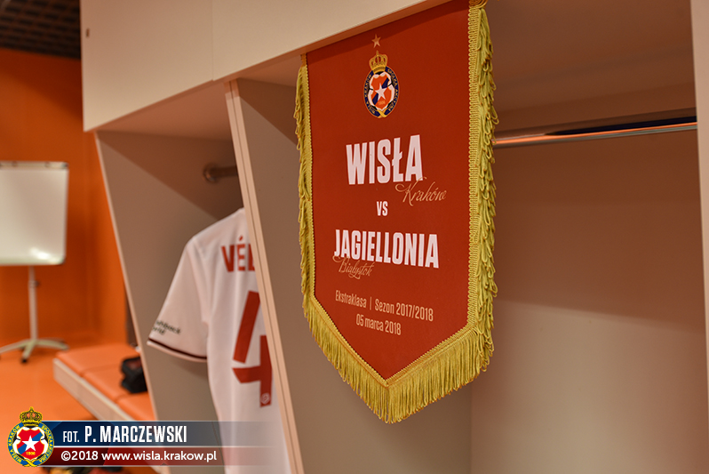 Wisła visiting the leader