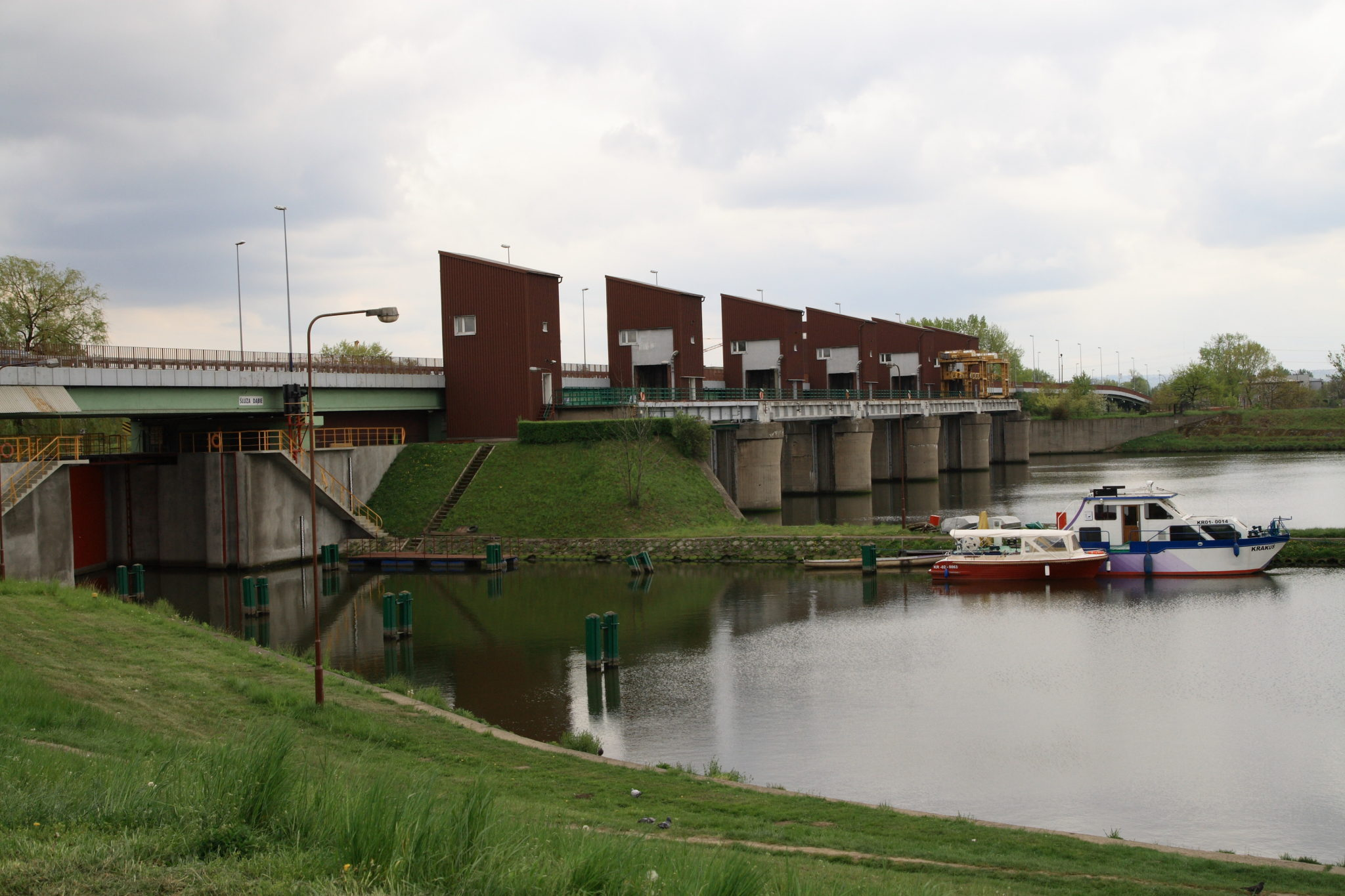 Dąbie Barrage, near where the body was discovered