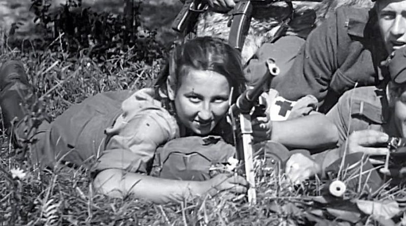"Danuta Siedzikówna (nom de guerre ""Inka""), a ""cursed soldier,"" was tortured and executed by the communist authorities in 1946 at age 17"
