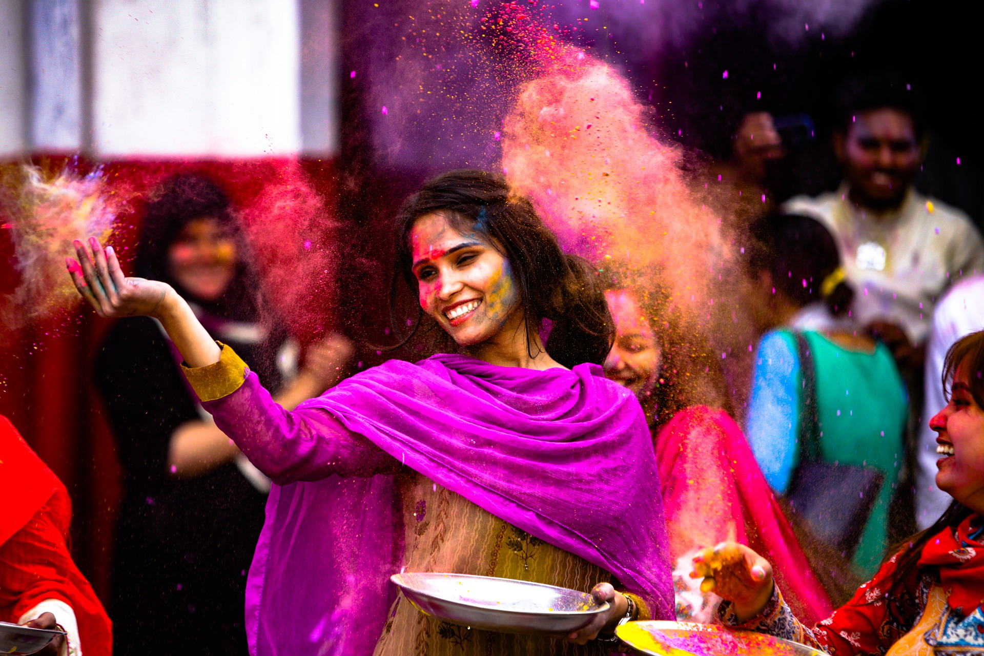 The Nowa Huta Cultural Centre will host a celebration of Holi, the Indian festival of colours, on Friday