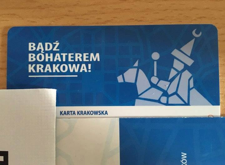 The new Krakow City Card (phot. Paweł Dukat)