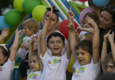 New playground and garden open at Jewish early childhood center