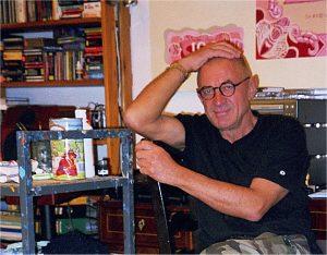 Edward Dwurnik in 2007 (phot. Lidia Matłacz-Roguska)