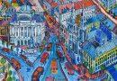 Krakowskie Przedmiescie (Krakow Suburbs) by Edward Dwurnik
