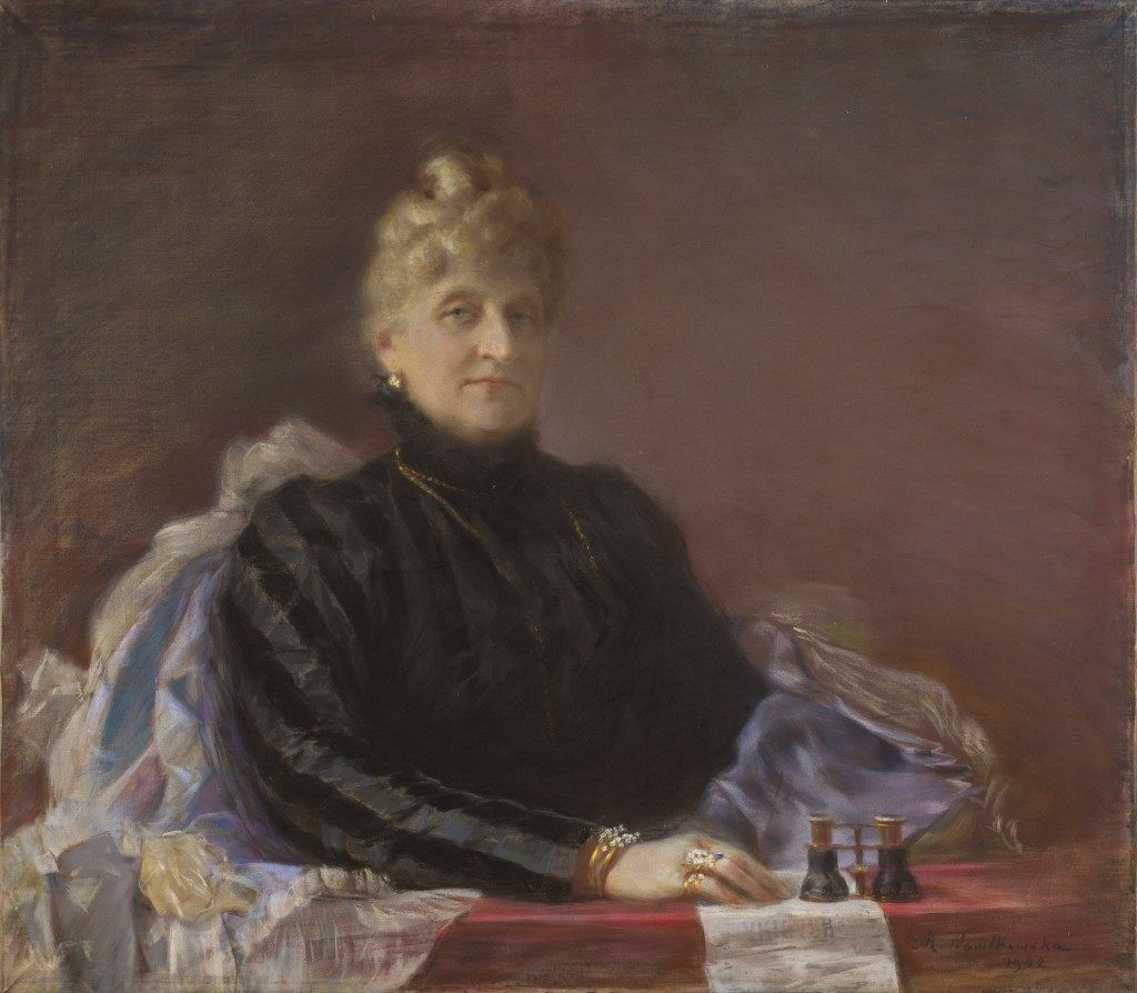 Portrait of Julia Wiemanowa by Maria Nostitz-Wasilkowska (1902)