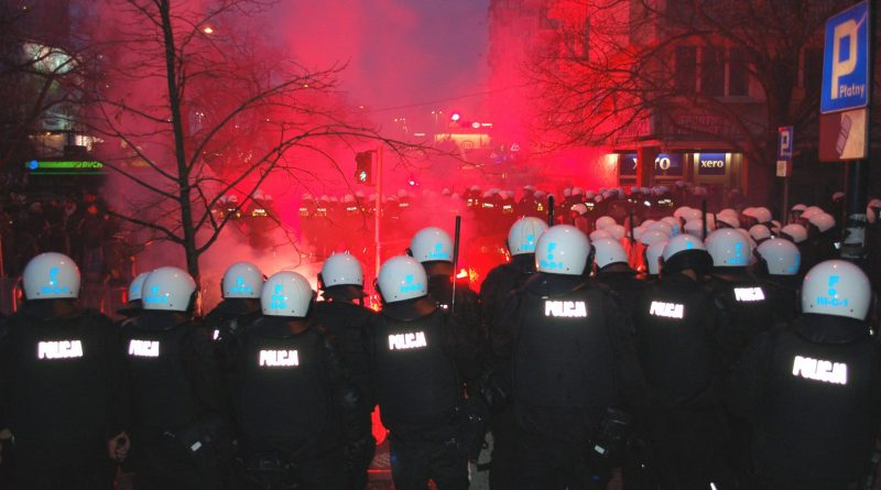 Warsaw's 2012 Independence Day March, which saw bloody clashes between ultra-nationalist marchers and police