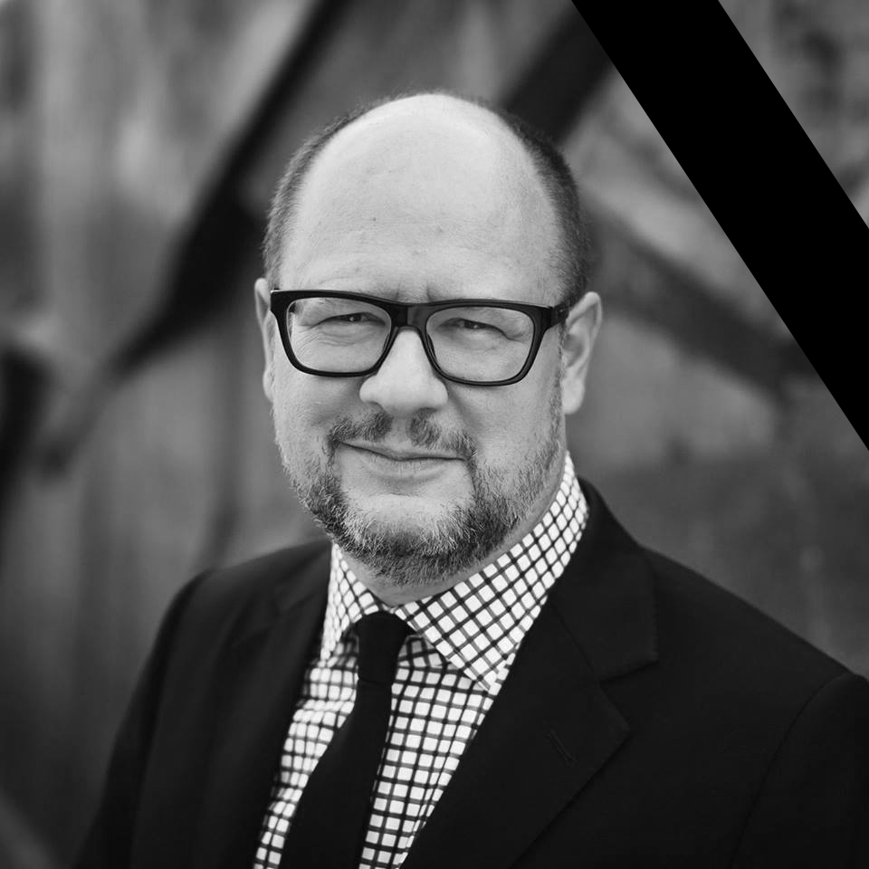 Paweł Adamowicz's official Facebook page photo