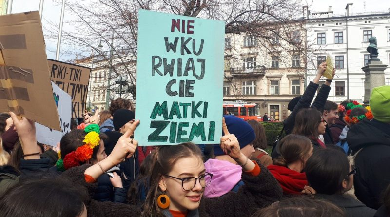 """DON'T PISS OFF MOTHER EARTH"" (phot. Razem Krakow)"
