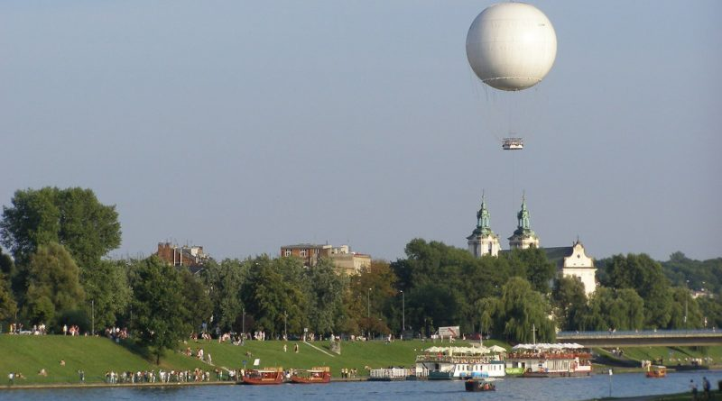 The original Krakow balloon in 2009