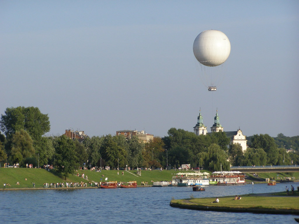 The original Krakow balloon in 2009
