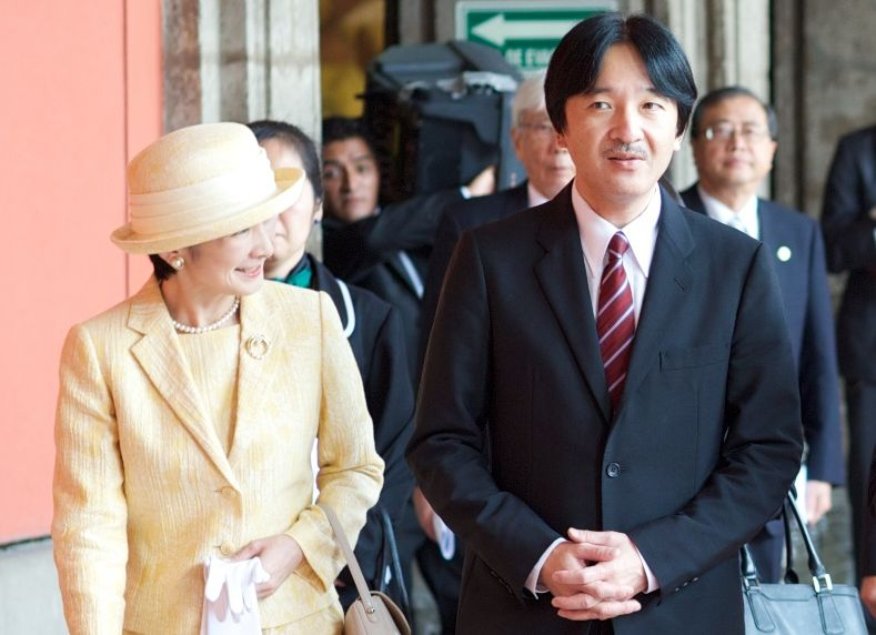 The royal couple in a 2014