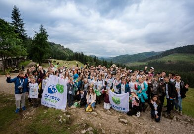 Litter cleanup in the Tatra Mountains