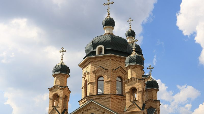 An Orthodox church in Ukraine
