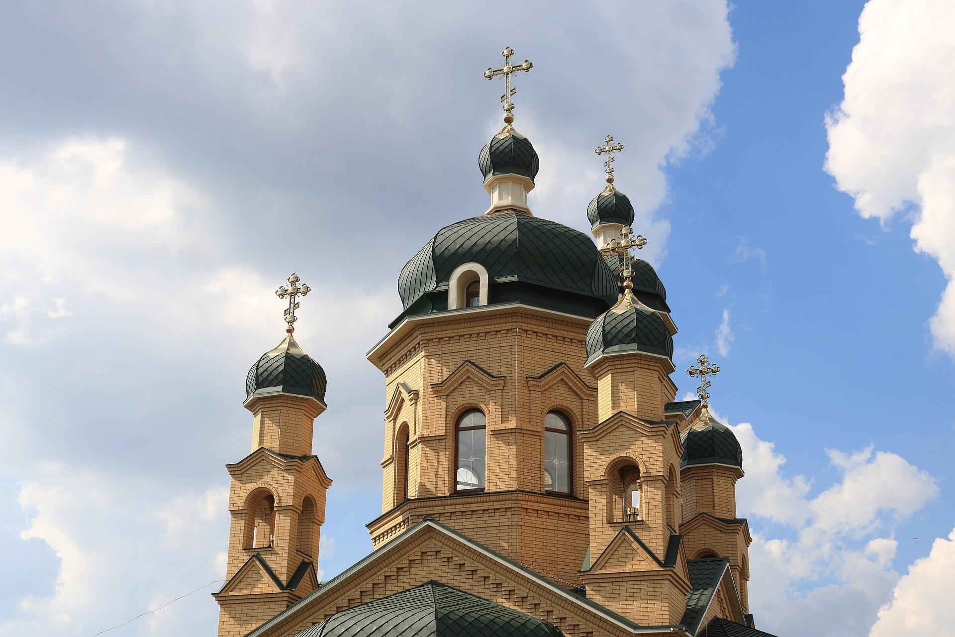 An Orthodox church in Ukraine