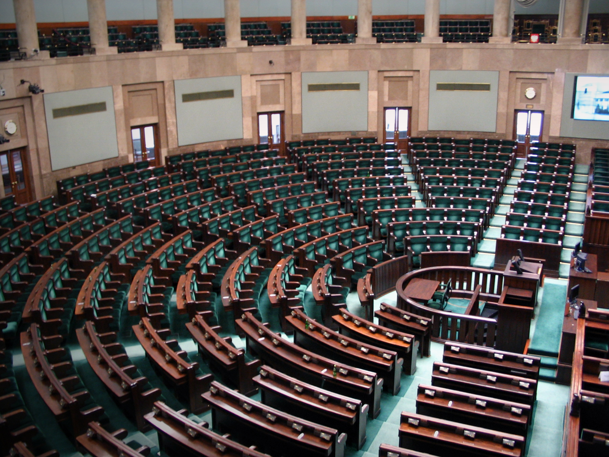 The Polish Sejm chamber