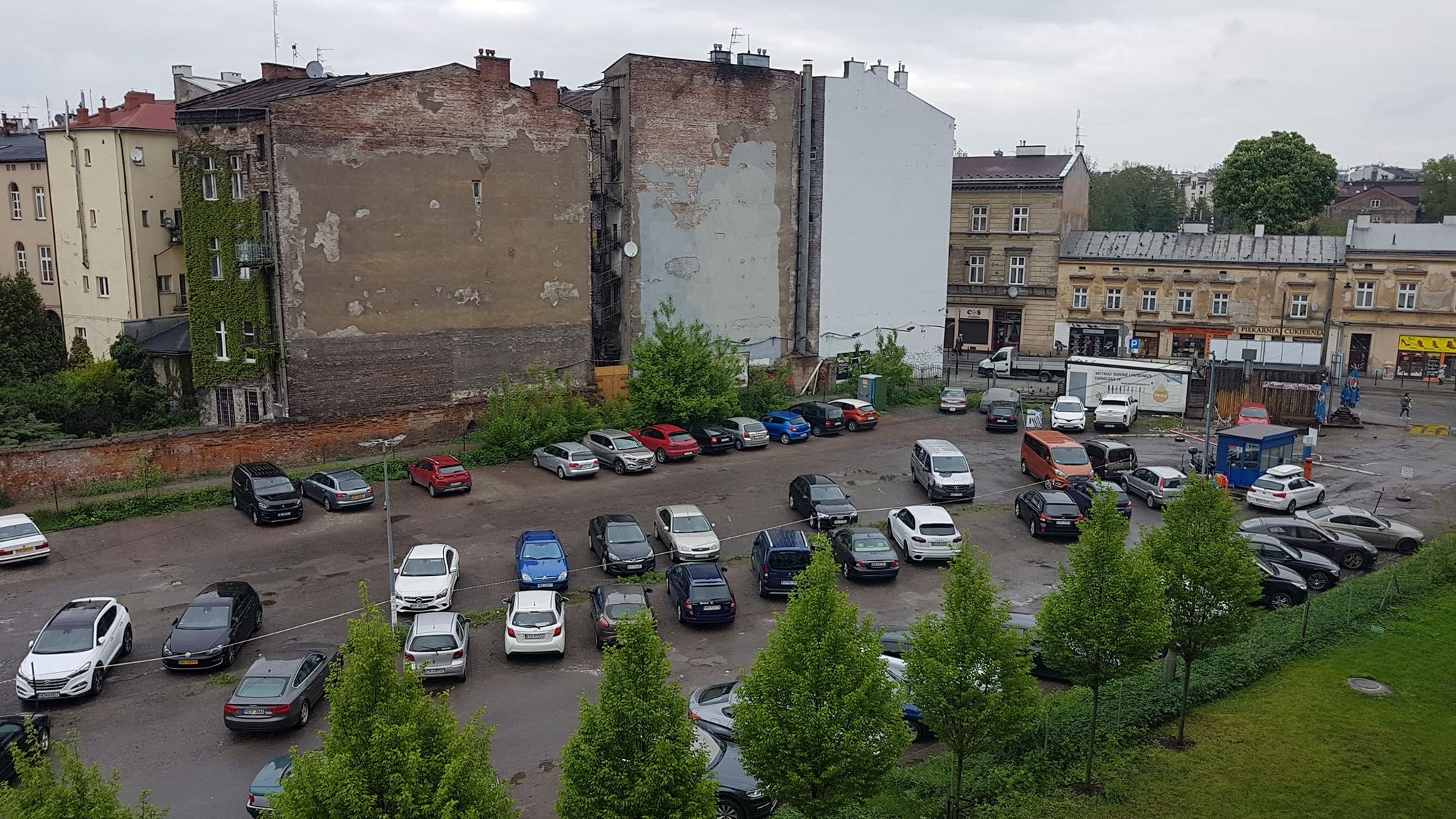 Cracovians have decided that next year this will be a park (photo via the city of Krakow)