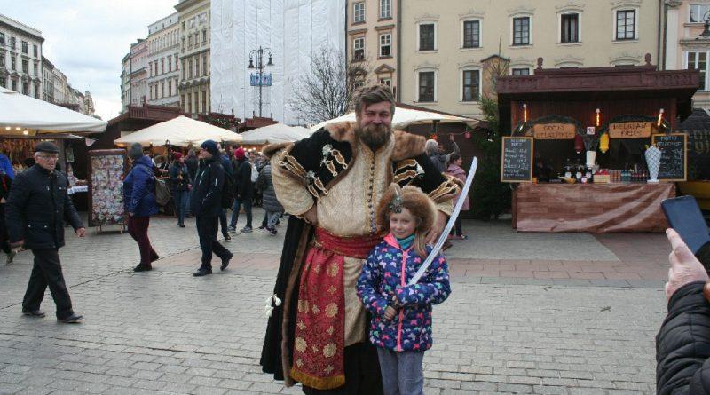 Scenes from the Krakow Christmas market