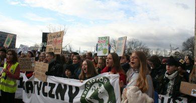 PHOTOS: Krakow Youth Climate Strike