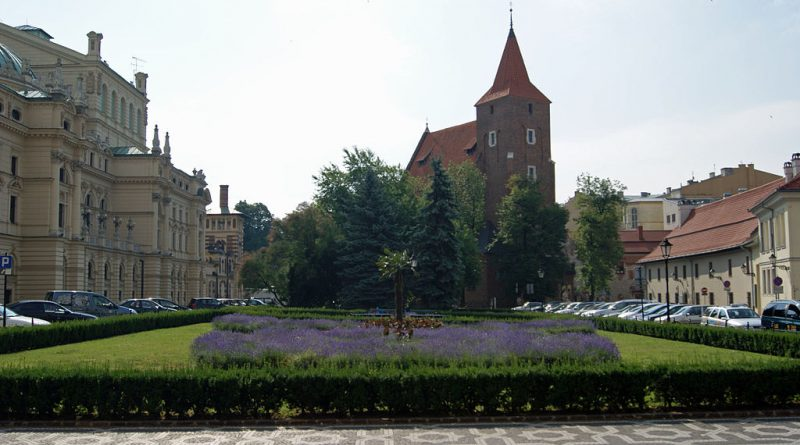 Holy Spirit Square in Krakow (phot. Zygmunt Put)