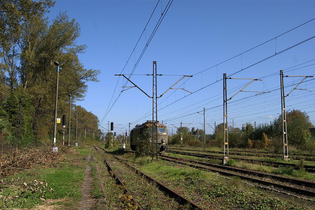 Train tracks in Nowa Huta (phot. Zygmunt Put)