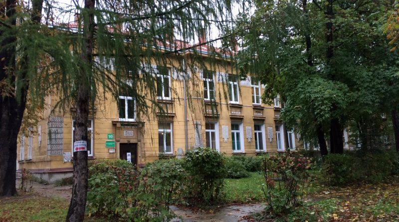 Part of the Krakow military hospital (phot. Ankie Lok)